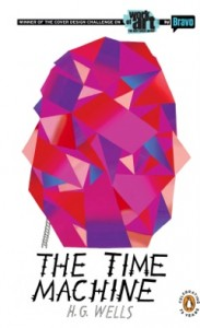 John Parot's book cover design for The Time Machine
