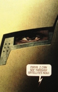Extremis put the technology in Tony Stark's body, making him Iron Man inside and out.