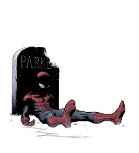 Probably not the sort of rest Peter Parker yearns for.