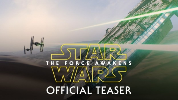 The Force Awakens teaser has garnered a lot of excitement.
