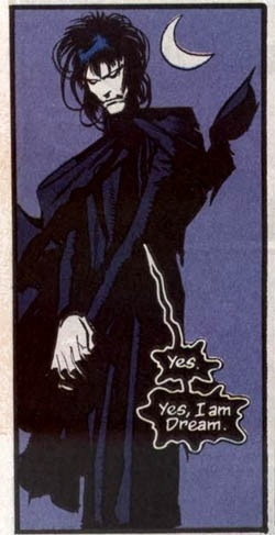 Dream, drawn here by John Watkiss, is the title character of Neil Gaiman's epic Sandman series