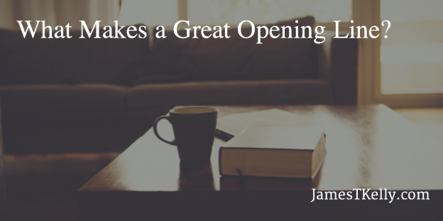 What makes a great opening line?