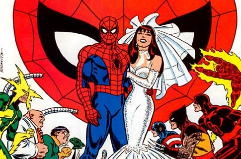 Spider-man's marriage to Mary Jane was ended in a deal with the devil.