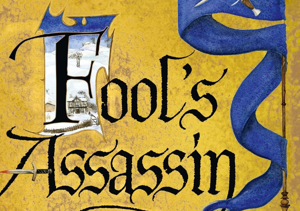 Cover to the UK edition Fool's Assassin by Robin Hobb