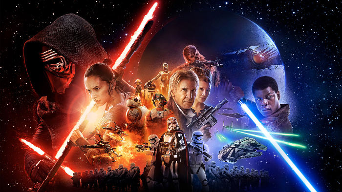 Poster for Star Wars: The Force Awakens