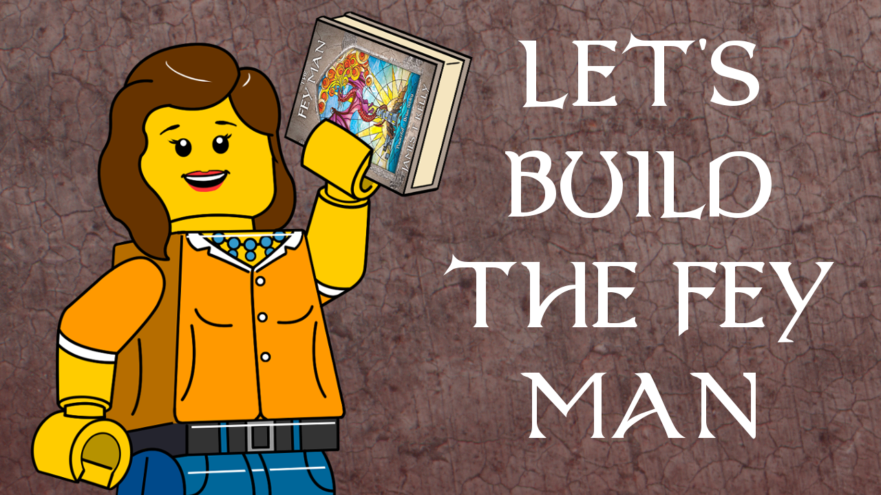 Title card for Let's Build The Fey Man YouTube series