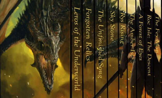 Outcast Journeys is a box set of nine SF&F ebooks featuring The Fey Man