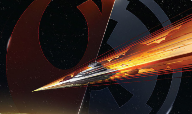 The cover to Claudia Gray's Star Wars: Lost Stars.