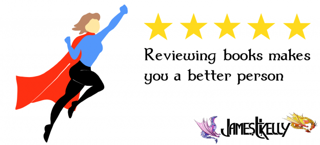 Reviewing books makes you a better person