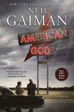 Book cover to American Gods by Neil Gaiman