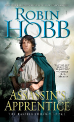 Book cover to Assassin's Apprentice by Robin Hobb