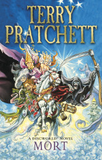 Book cover to Mort by Terry Pratchett