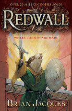 Book cover to Redwall by Brian Jacques