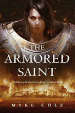 Book cover to The Armoured Saint by Myke Cole