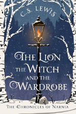 Book cover to The Lion, the Witch, and the Wardrobe by C S Lewis