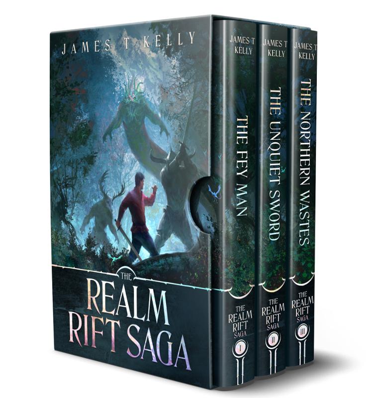 Cover art for the Realm Rift Saga ebook bundle