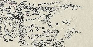 The map of Mordor is an excellent example of how mountains don't work