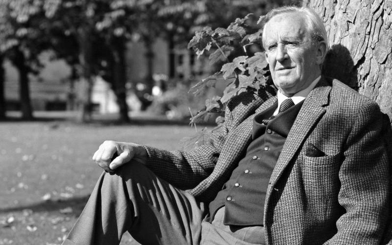 Photo of JRR Tolkien