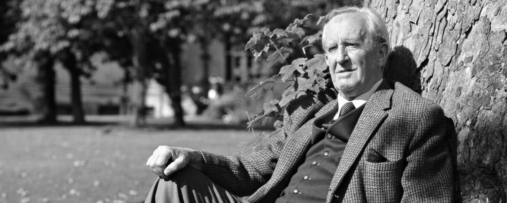 Photo of JRR Tolkien