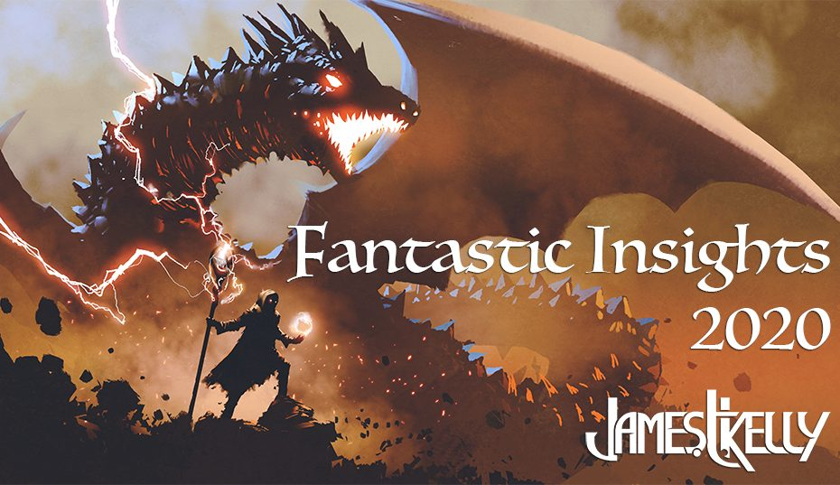 Banner for the Fantastic Insights reader survey 2020