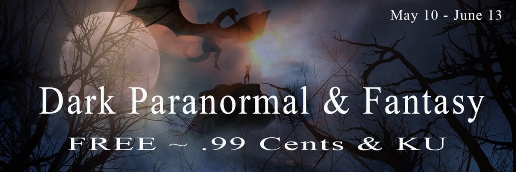 Banner for Dark Paranormal & Fantasy ebook giveaway